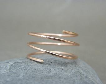 Rose gold ring Etsy