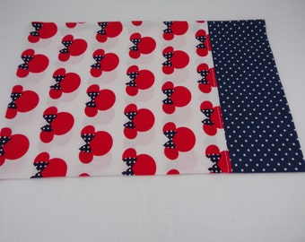 Disney Minnie Mouse Ears Baby Pillow Case