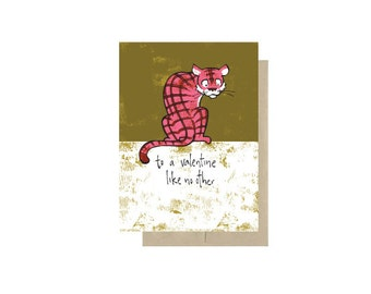 To A Valentine Like No Other - Valentine's Day Card Blank Inside