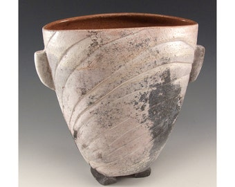 Vintage One of a Kind Ceramic Vessel by Terry Davis