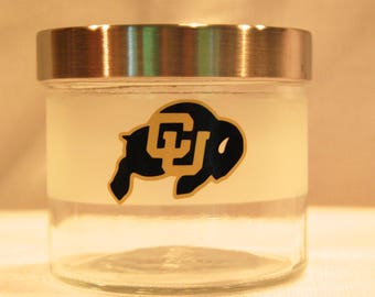 University of Colorado Jar, University of Colorado, CU Boulder,  CU Boulder Gift, CU Grad Gift, Colorado Buffaloes, Buffaloes, Colorado Gift