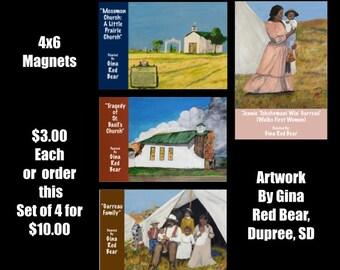 Lakota Art Magnets