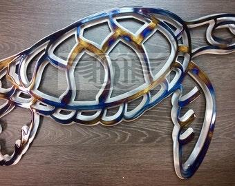 Metal Wall Art Turtle