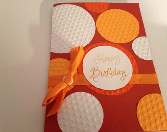 Handmade greeting Birthday Card with envelope