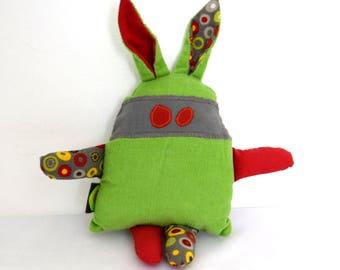 The toy hidden Green Apple soft