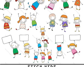 Stick Kid Clipart, Stick Kid Clip Art, Clipart Stick Kid, Clip Art Stick Kid, Stick Kid PNG, PNG Stick Kid, Stick Figure Clipart, Stick Kid