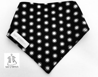 """White dots"" bandana"
