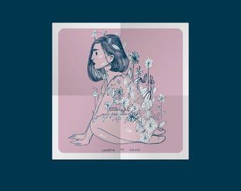 Print A5-A4 ~ I choose to grow.