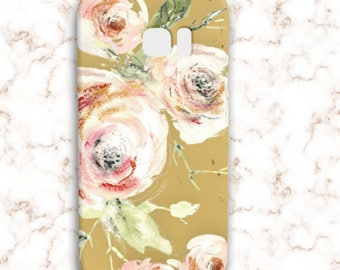 Phone case with flowers - Flower iPhone Case, iPhone 6 Floral, Galaxy S8 plus case, Galaxy S7 floral case, Galaxy S6,  abstract flowers