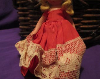SALE/Suha a mini-doll a storybook doll/ one of the seven sisters