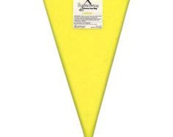Lemon 8 oz Squeeze Ums - Candy Center Filling Bag Soft Center Drizzle