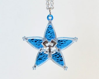 Kingdom Hearts Personalized Friendship Wayfinder Necklace or Keychain
