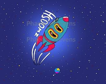 Zwoosh Spaceship