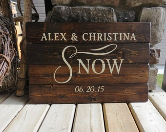 Your Family Name & Established Date Wood Sign - Beach, Rustic, Distressed, Country, Farmhouse, Shabby, Wood Plank