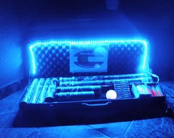 Battery Powered Vendor LED Light Strip Kit AA 5050 - Music Burning Man Festival