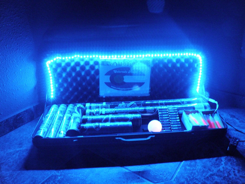 Battery powered vendor led light strip kit aa 5050 music zoom aloadofball Images