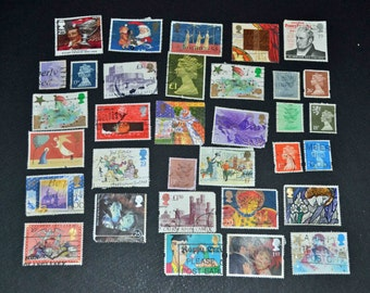 50 Great Britain stamps