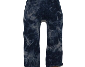 "Tie Dyed Denim Jeans/Pants - Dark Blue- Doll Clothes fits 18"" American Girl Dolls"