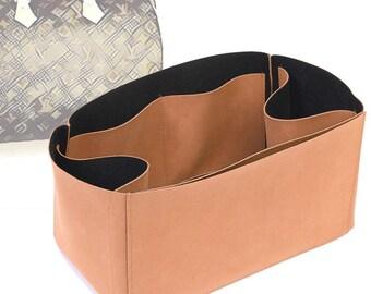 Regular Style Nubuck Leather Handbag Organizer for LV Speedy
