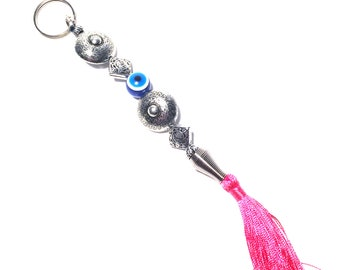 Evil Eye Keychain with Strings, Evil Eye, Evil Eye Key Chain, Hamsa Keychain,  Evil Eye Hamsa (Buy 1 Get 1 FREE & FREE SHIPPING!!!)