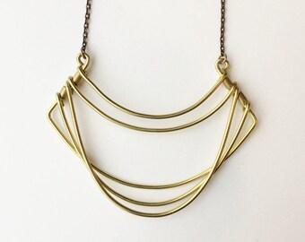 New Drape Necklace