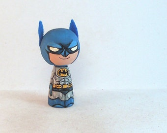 Superhero Batman Kokeshi Doll