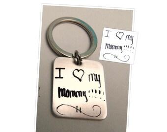 Custom Handwriting, Handwriting jewelry, Mothers Day Gift, Children handwriting,  ACTUAL Handwriting, Personalized Handwriting Jewelry