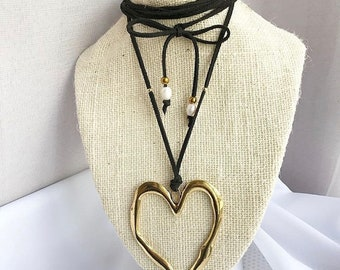 Heart choker them by Norma