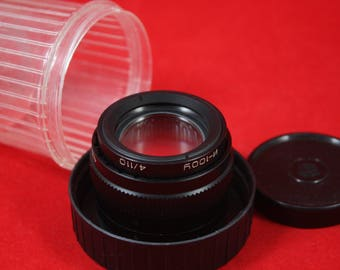 Tested Industar-100U 4/110mm Enlarger lens with screw M39 mount
