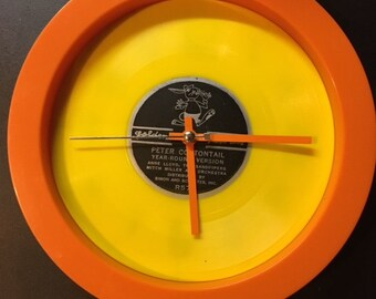 Peter Cottontail Record Clock