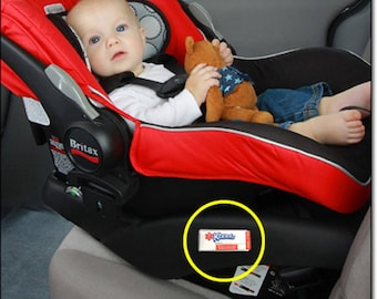 Baby Car Seat / Baby ICE (In Case of Emergency) Card & Medical Alert ID, Car Seat ID Stickers Emergency Car Seat Stickers