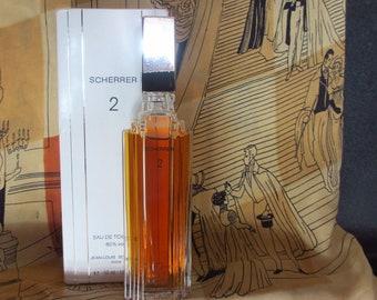 Vintage French Perfume Scherrer 2 Eau de Toilette by Jean-Louis Scherrer in Original Box Free Shipping