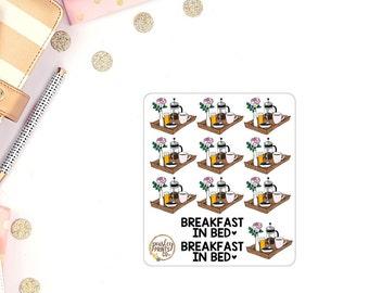 Breakfast In Bed Planner Stickers