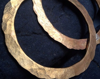 Brass Disk Bangle