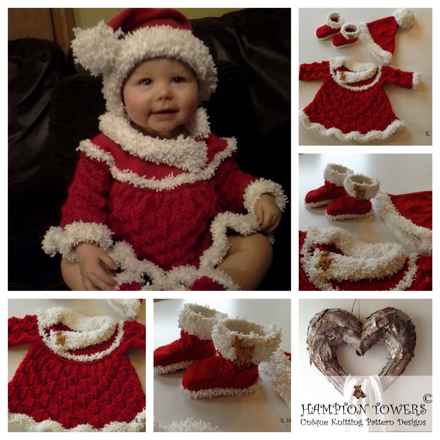 Perfect Santa Hat Knitting Pattern For Babies Mold - Easy Scarf ...