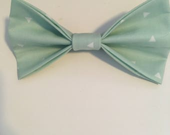 Aqua marine || pet bow tie