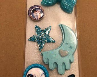 Sailor Mercury Phone Case Layouts