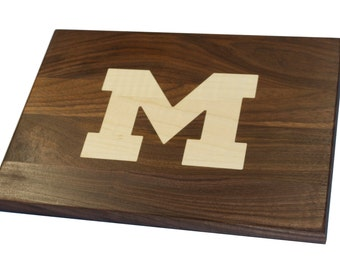 University of Michigan Cutting Board