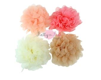 "3.5"" Organza Flower...Headband Supplies....DIY Flowers"