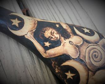 Primitive Goddess of the Night Heirloom Spoon