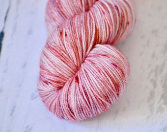 """Hand Dyed Yarn - Fingering weight - """"Painted Love"""" Colorway - Hand Dyed Yarn - Socks - Shawl"""