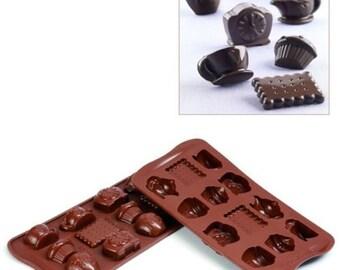 TeaTime Silicone Chocolate Molds