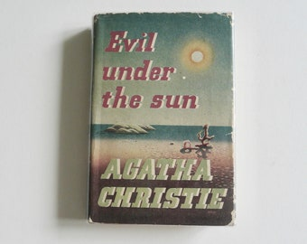 Evil Under the Sun by Agatha Christie First Edition 1941 1st