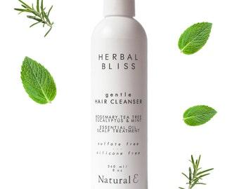 Natural Shampoo--Sulfate Free Shampoo--Hydrating Shampoo--Gentle Shampoo--Curly Hair Products