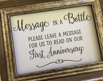 Message bottle print | Etsy