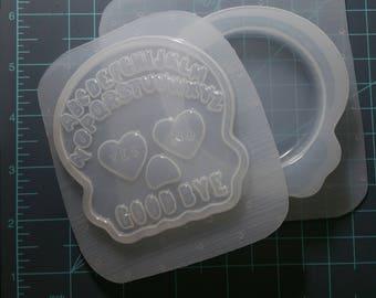 On SALE! Skull Letter Spirit Board Flexible Plastic Mold
