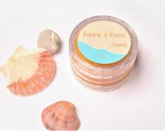 Lip balm pineapple - 100% natural shea butter - 10 ml or 8 g