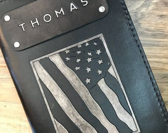 Custom Leather Journal, Personalized Leather Notebook, Army Gift, Army Notebook, Military Gift, Military Notebook, Handmade Leather Journal
