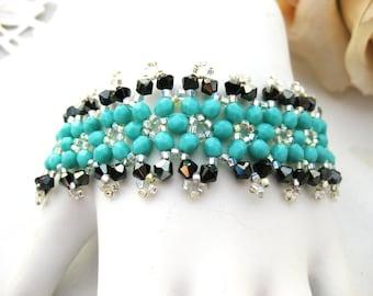 Swarovski Turquoise bracelet