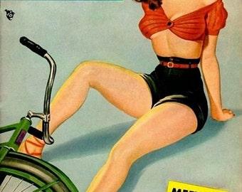 Vintage Pin Up Girl 169 Pinup Poster  A3 Print